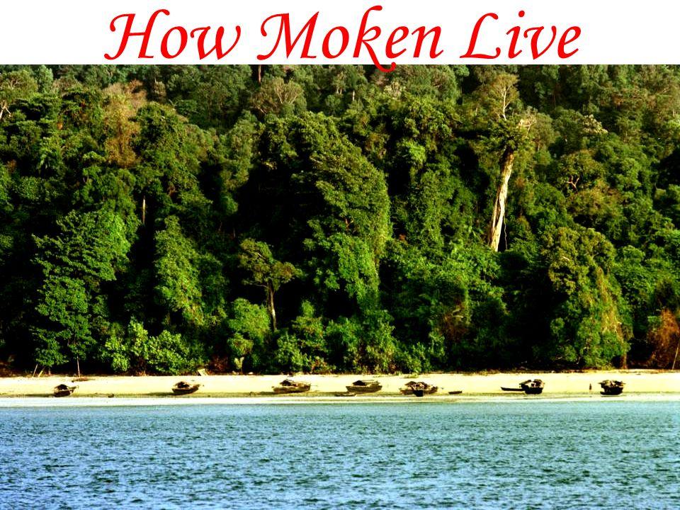 How Moken Live