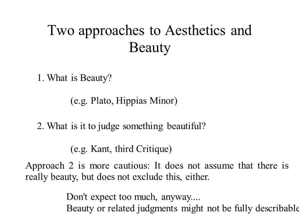 Kant s result so far discussed (2) But what then is Kant s conception of pleasure.