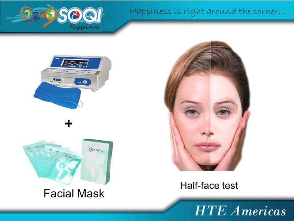 Facial Mask + Half-face test