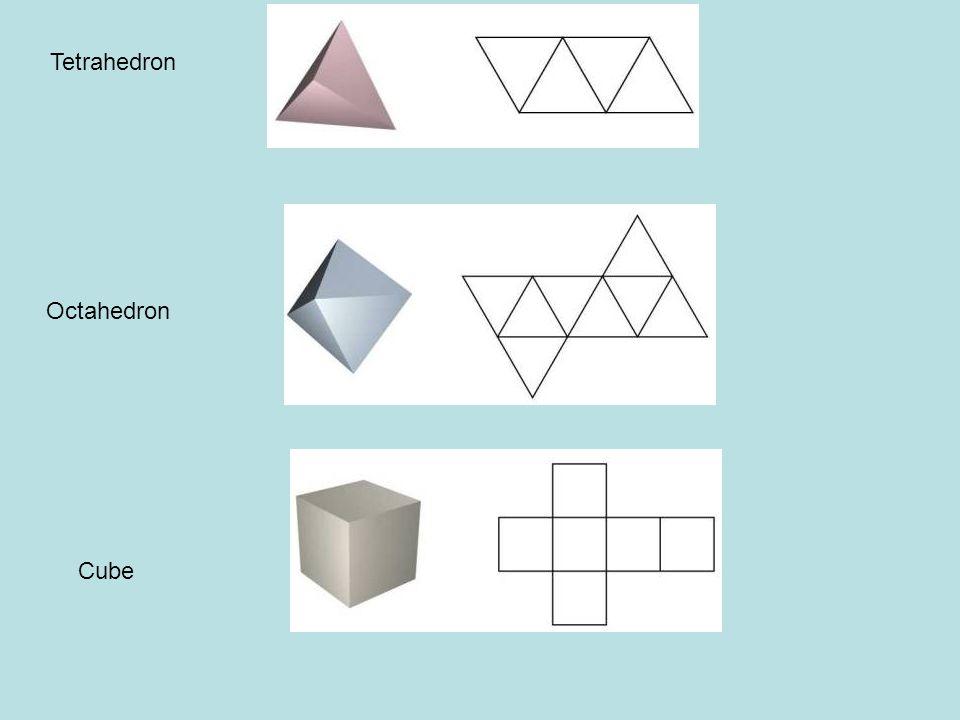 Tetrahedron Octahedron Cube