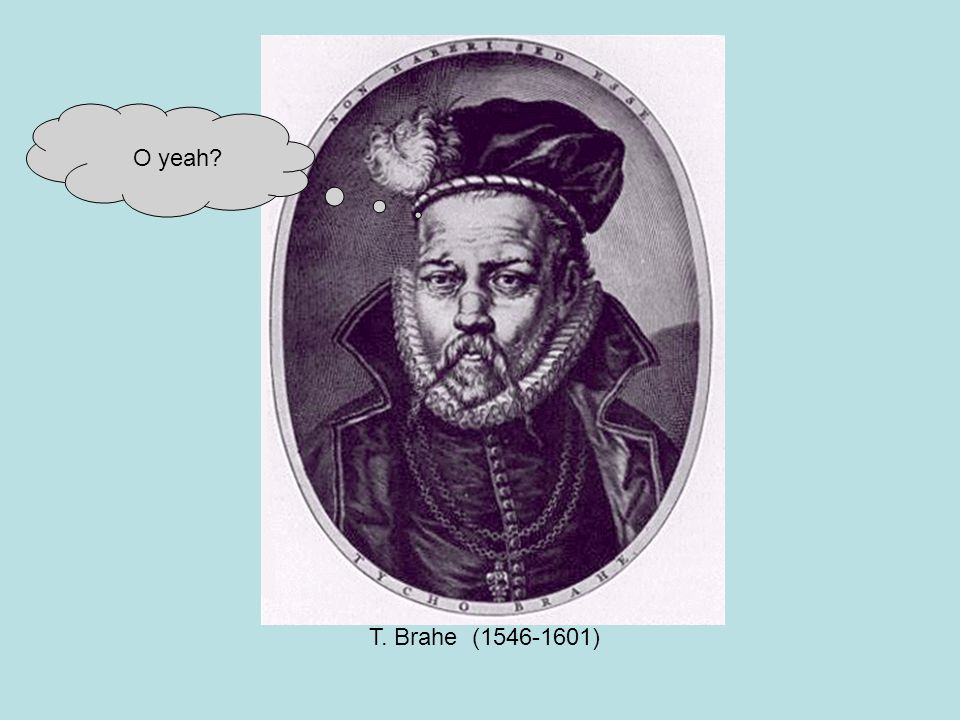 T. Brahe (1546-1601) O yeah