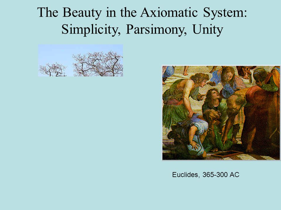 Unity Underlying Plurality