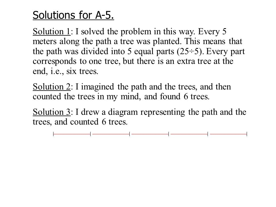 Solutions for A-5. Solution 1: I solved the problem in this way.