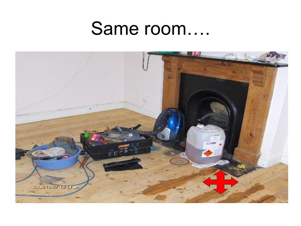 Same room….