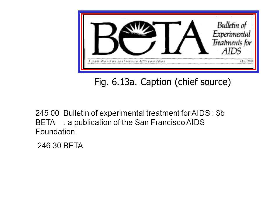 245 00Bulletin of experimental treatment for AIDS : $b BETA : a publication of the San Francisco AIDS Foundation.