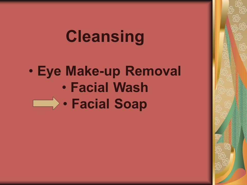 Cleansing Eye Make-up Removal Facial Wash Facial Soap