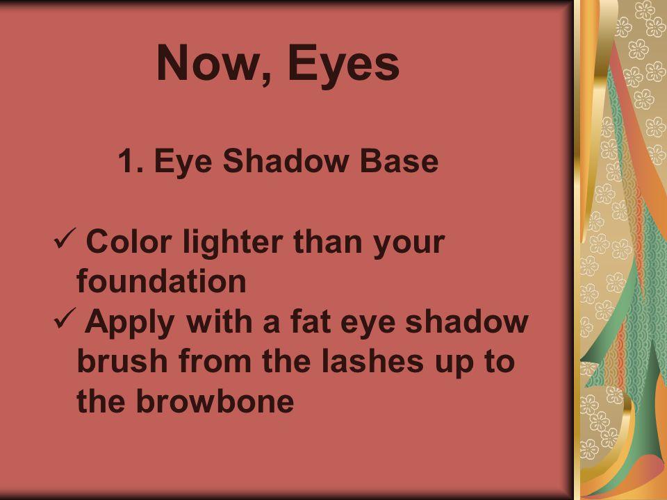 Now, Eyes 1. 1.