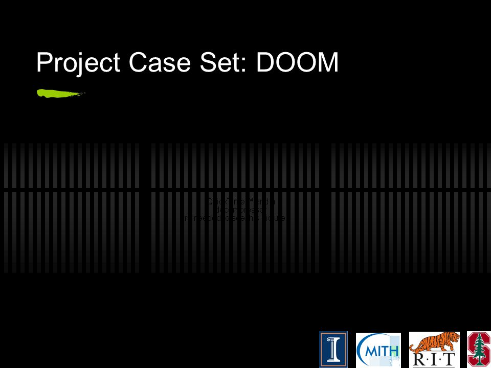 Project Case Set: DOOM