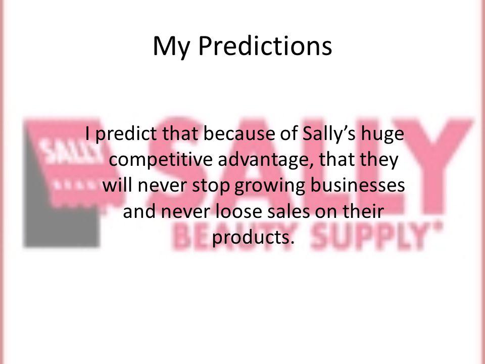 Where s Sallys.