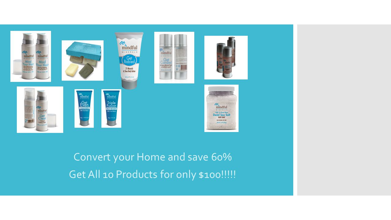 Convert your Home and save 60% Get All 10 Products for only $100!!!!!