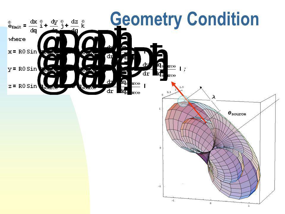 Geometry Condition