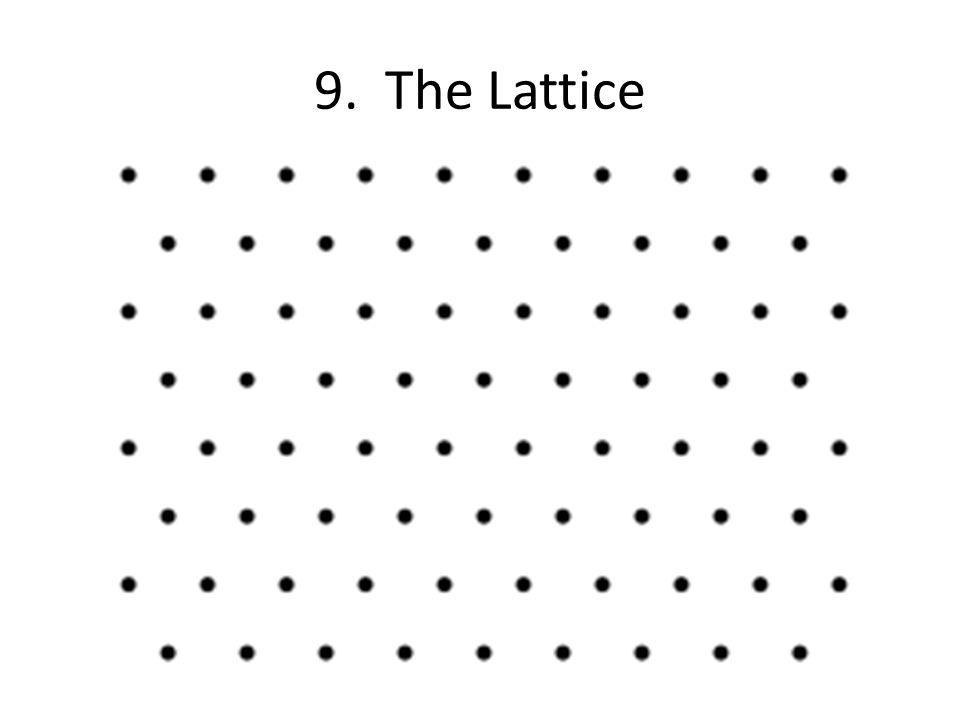 9. The Lattice
