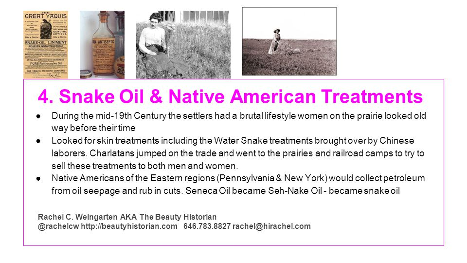 4. Snake Oil & Native American Treatments During the mid-19th Century the settlers had a brutal lifestyle women on the prairie looked old way before t