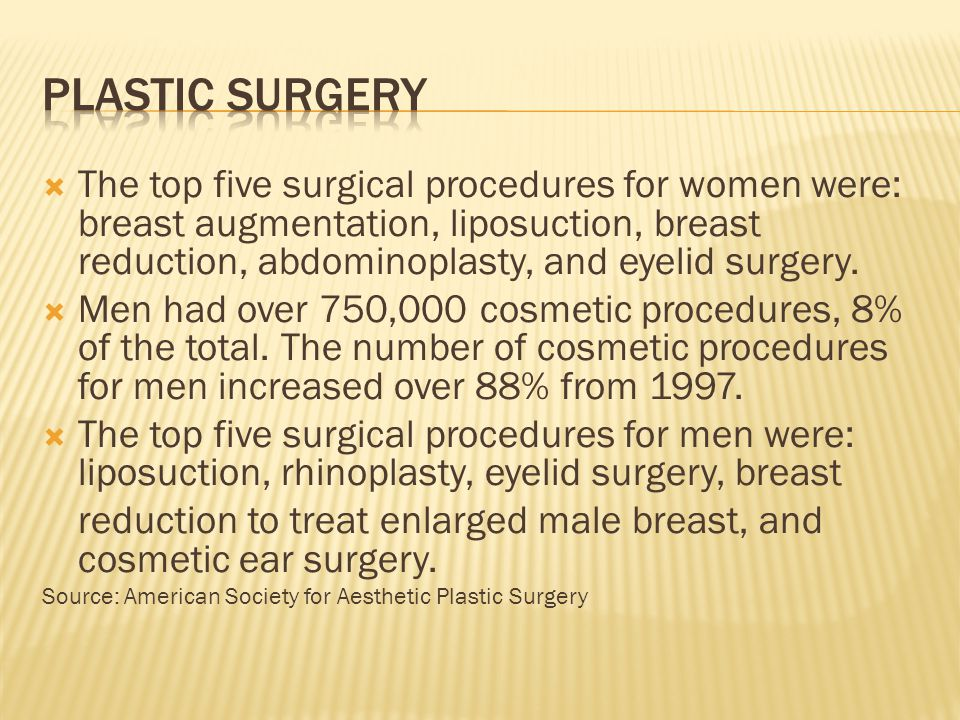 Americans spent nearly $10.7 billion on cosmetic procedures in 2010.