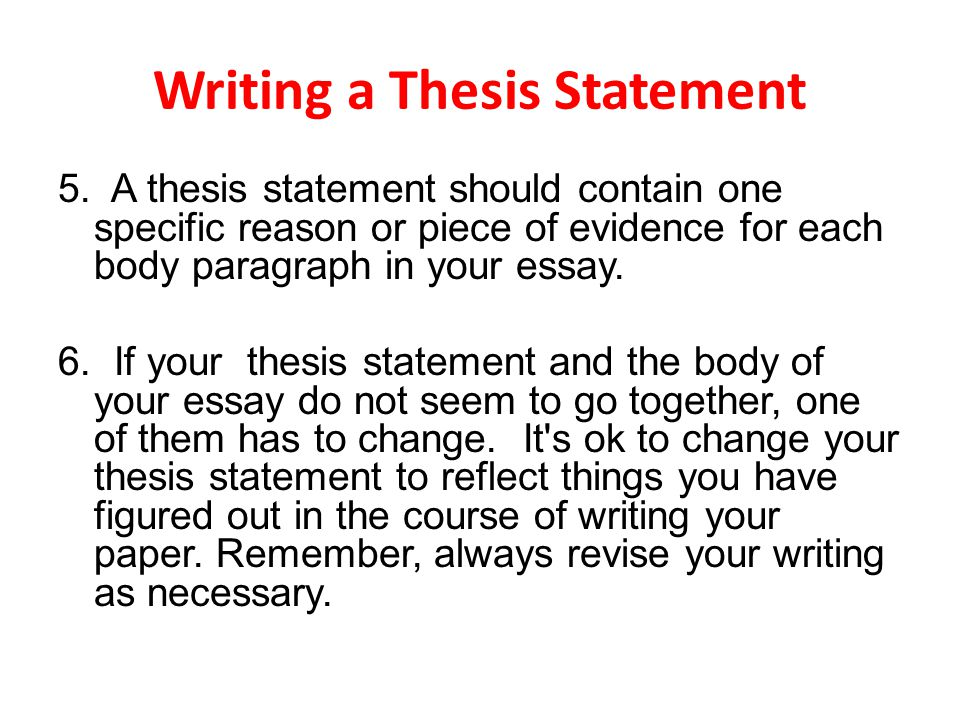 What is a theme statement in a 5 paragraph essay?