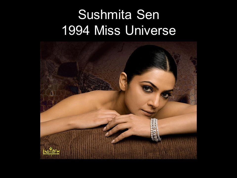 Sushmita Sen 1994 Miss Universe