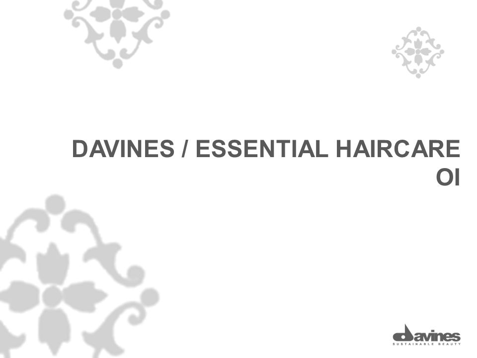 DAVINES / ESSENTIAL HAIRCARE OI