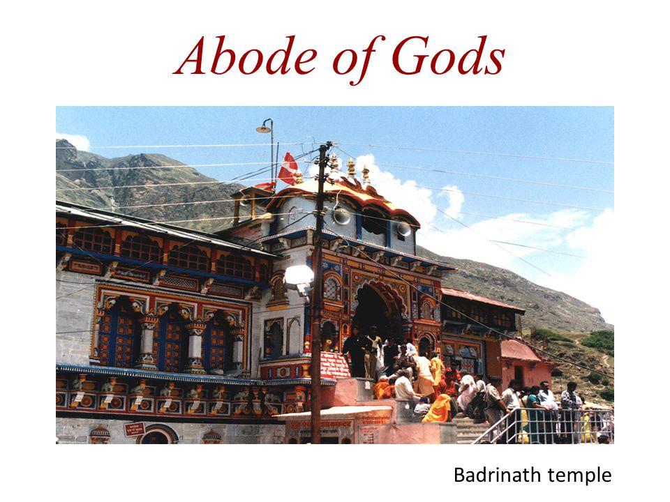 Abode of Gods Badrinath temple