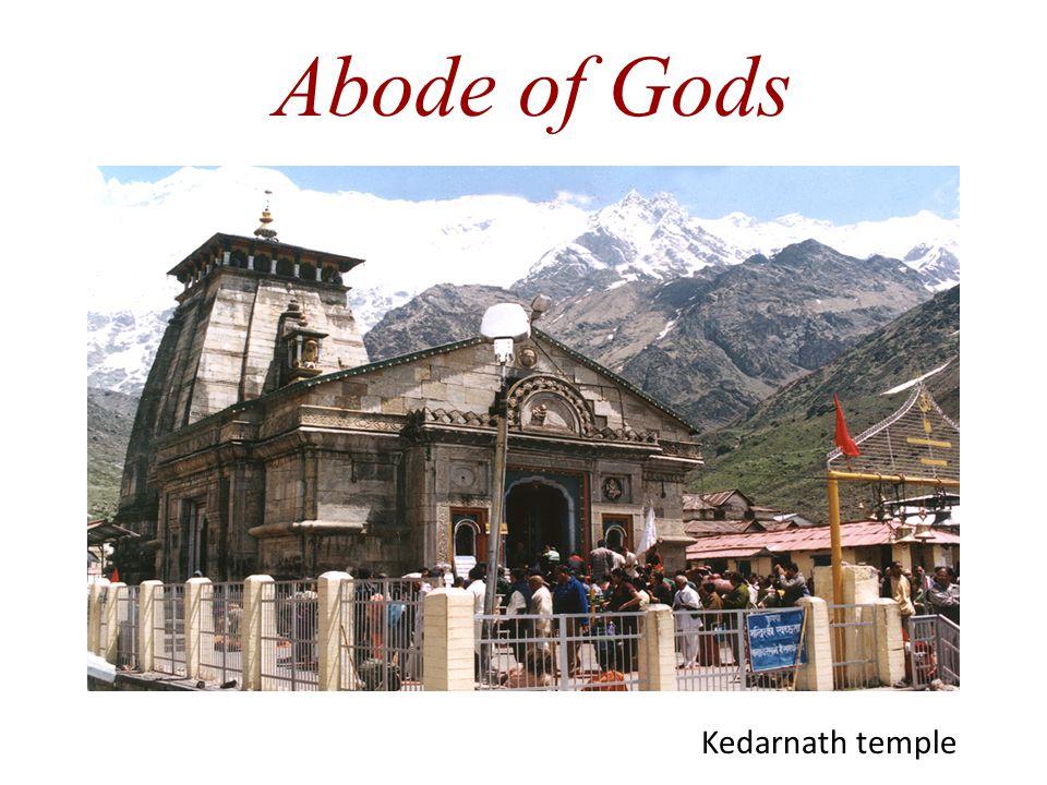 Abode of Gods Kedarnath temple
