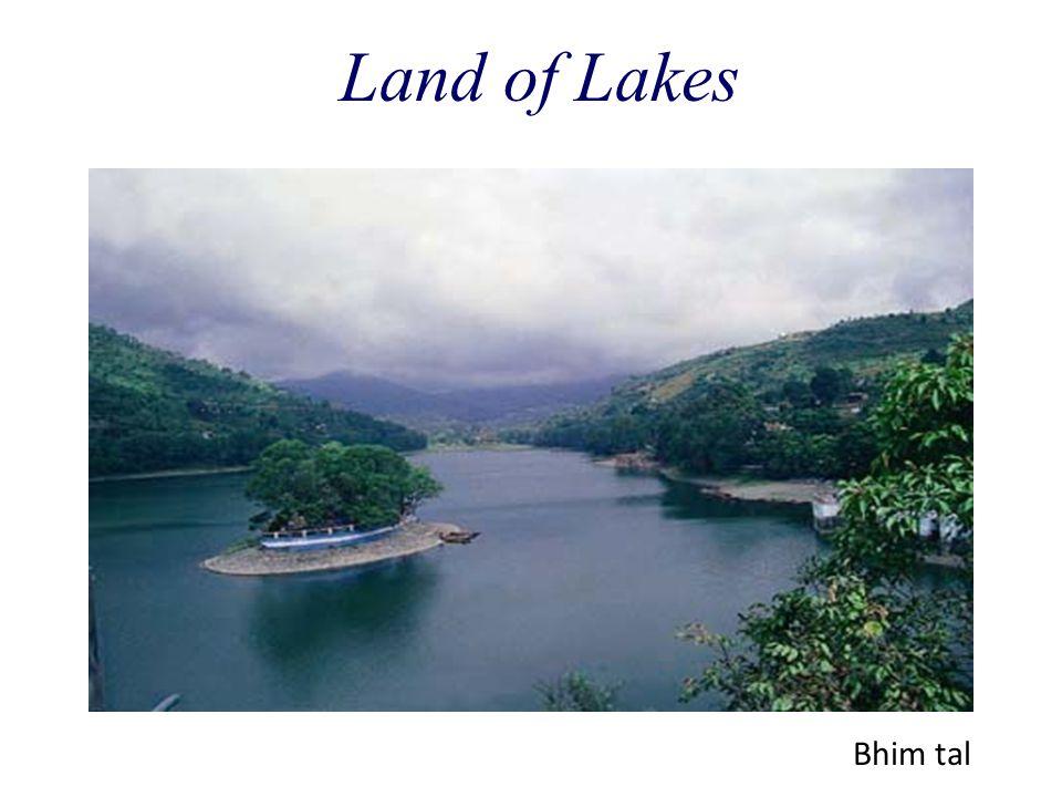 Land of Lakes Bhim tal