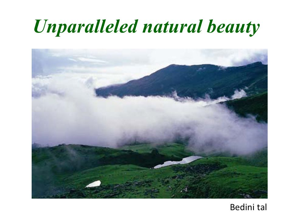Unparalleled natural beauty Bedini tal