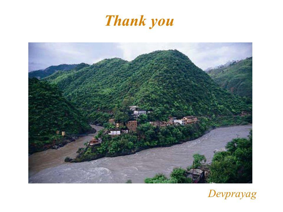 Thank you Devprayag