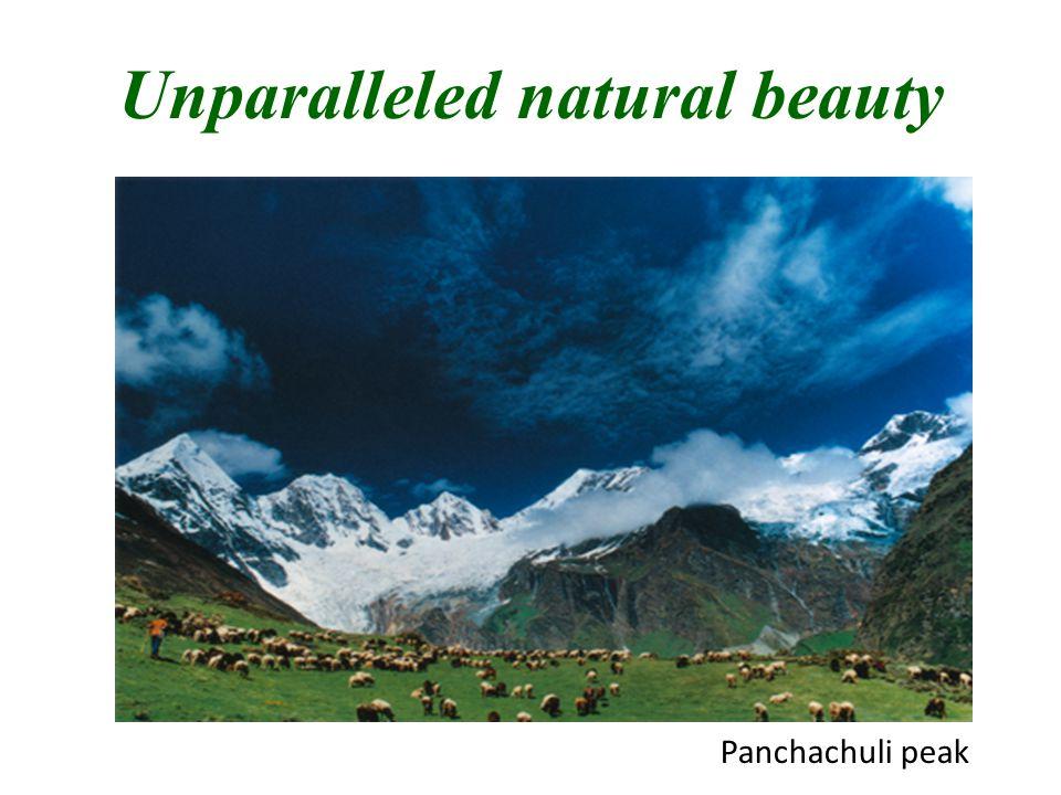 Unparalleled natural beauty Panchachuli peak