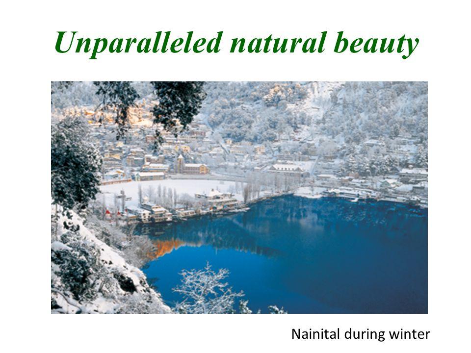 Unparalleled natural beauty Nainital during winter