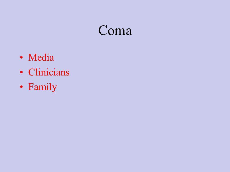 Coma Media Clinicians Family
