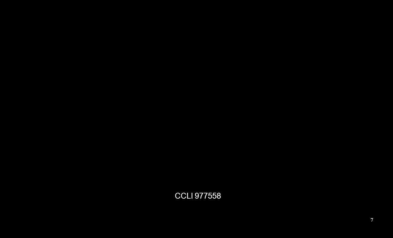 CCLI 977558 7