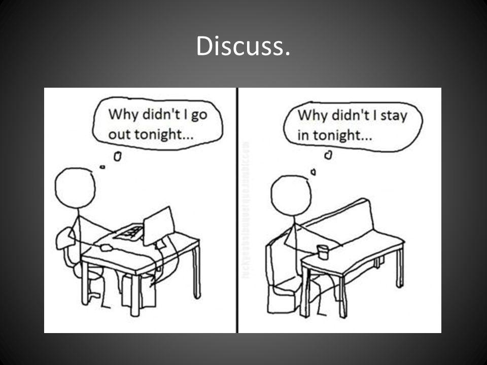 Discuss.