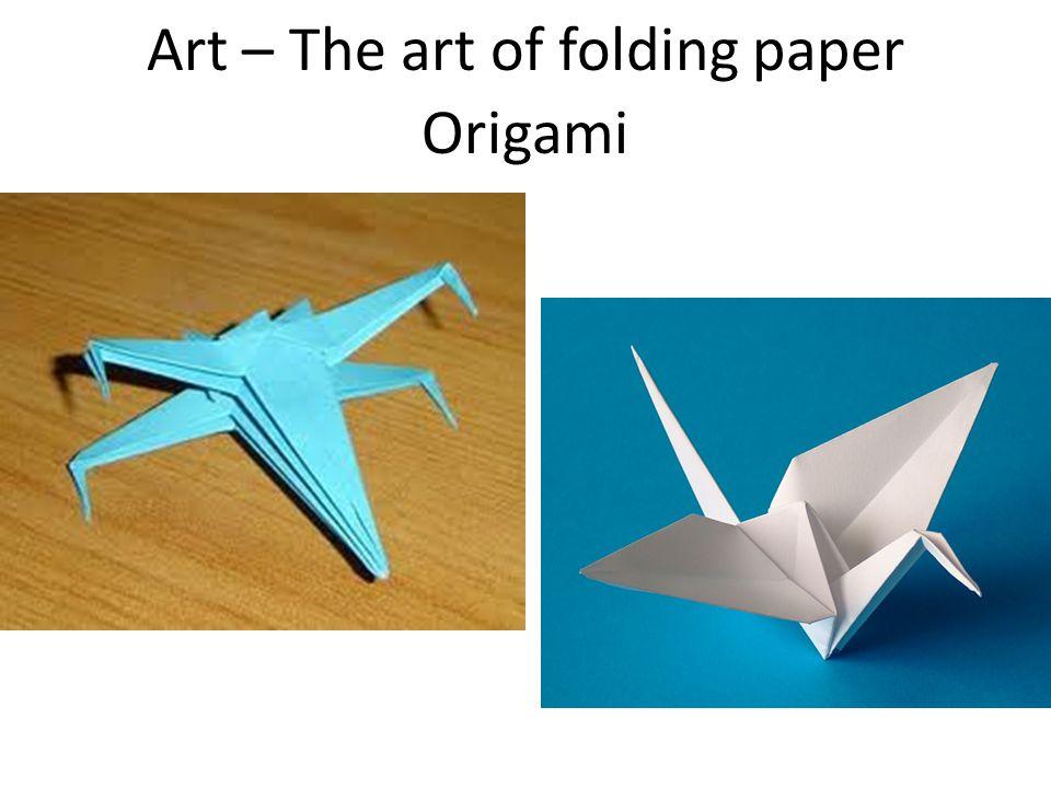 Art – The art of folding paper Origami
