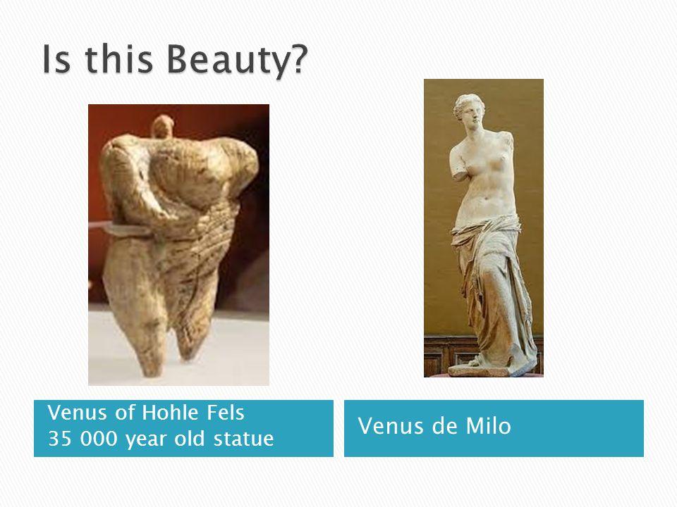 Venus of Hohle Fels 35 000 year old statue Venus de Milo