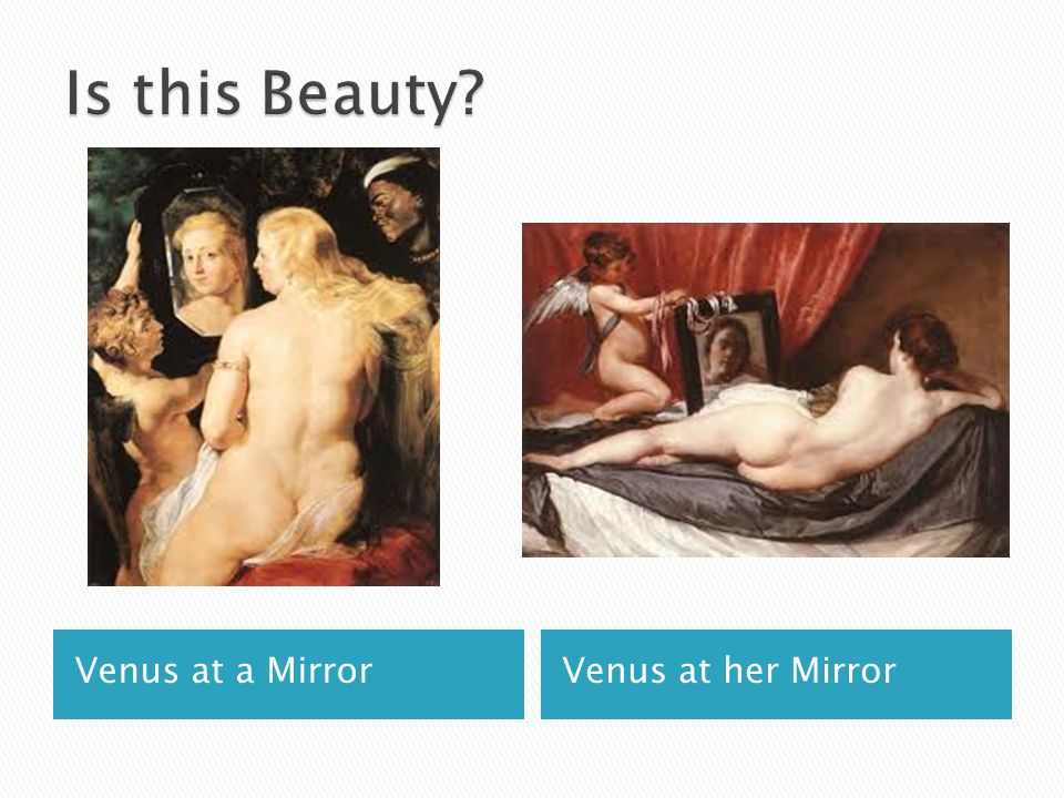 Venus at a MirrorVenus at her Mirror