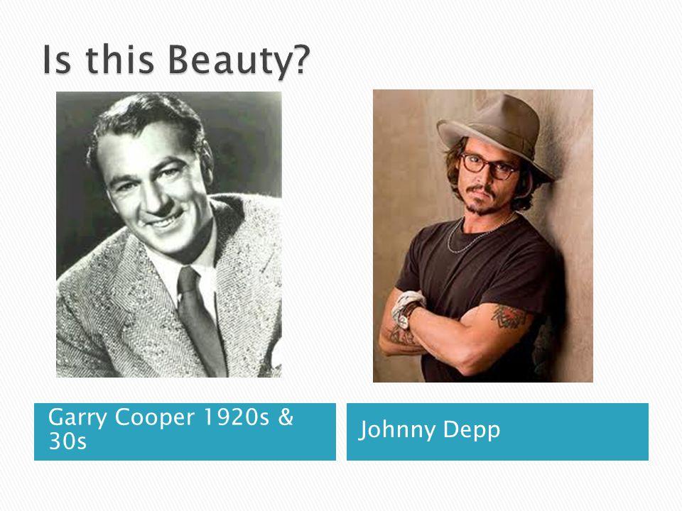 Garry Cooper 1920s & 30s Johnny Depp
