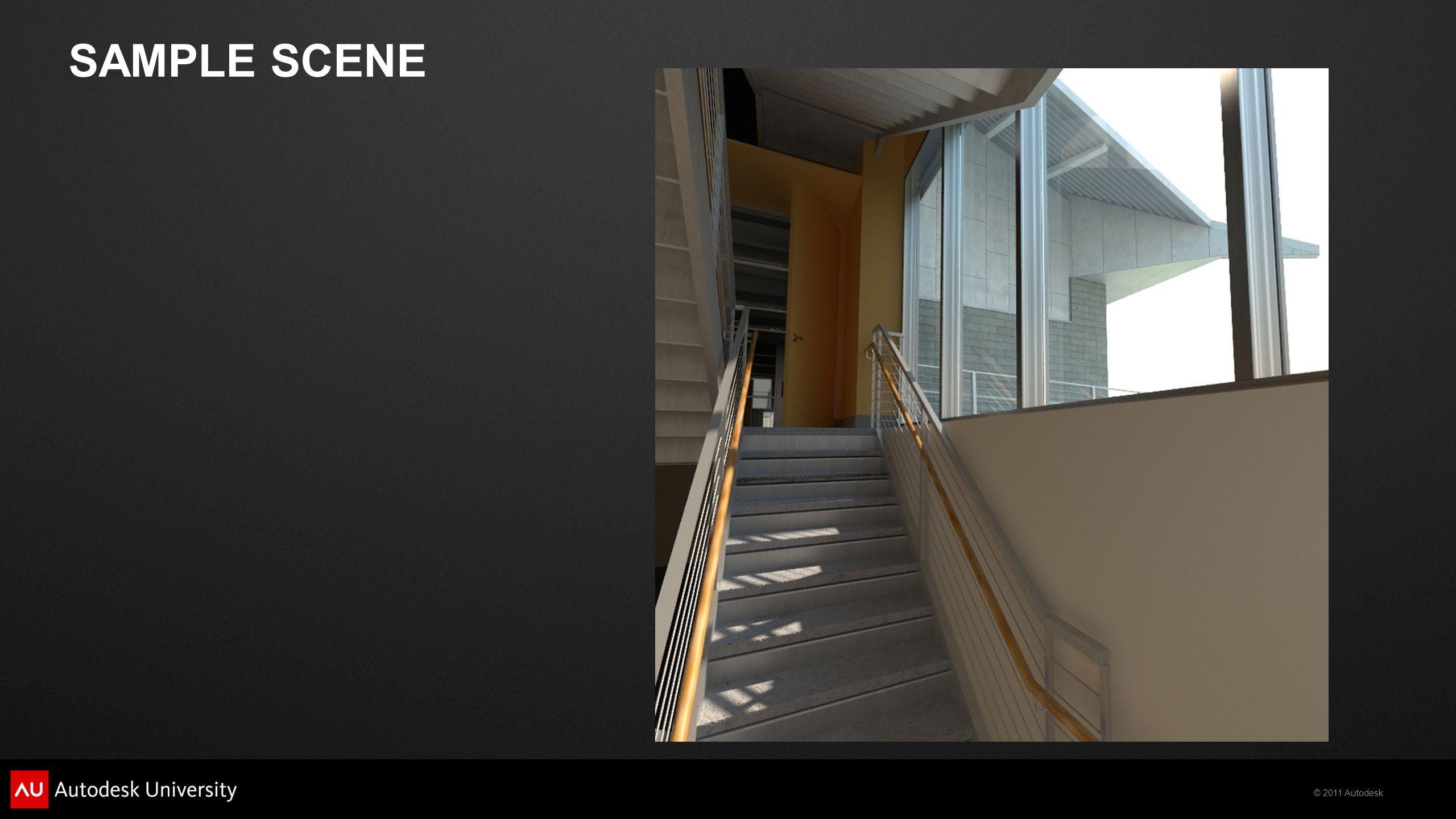 © 2011 Autodesk Raw Global Illumination Raw Lighting Raw Elements