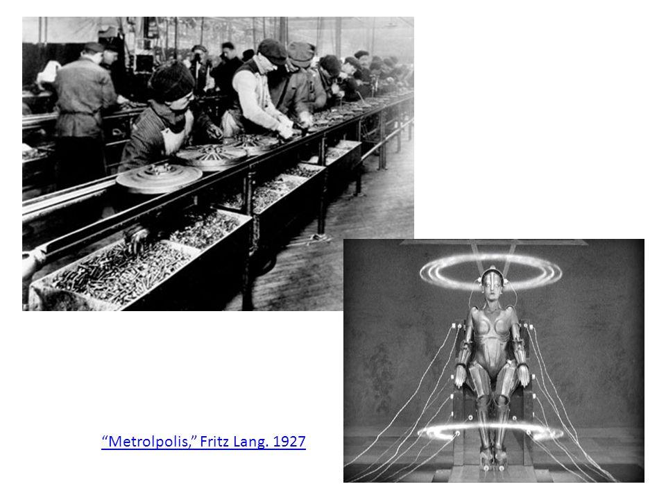 Metrolpolis, Fritz Lang. 1927