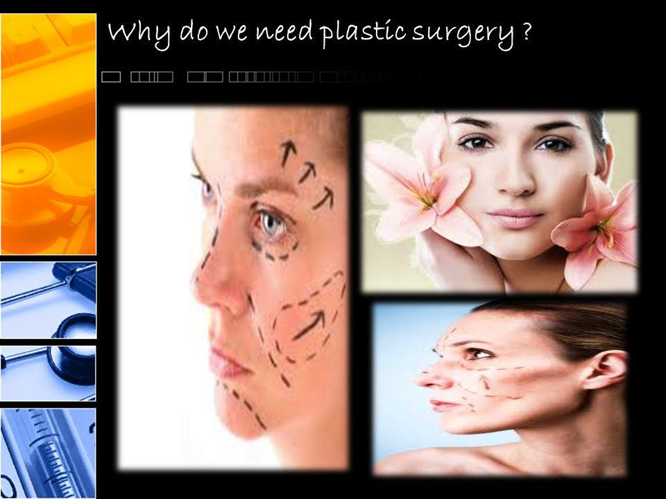 Why do we need plastic surgery