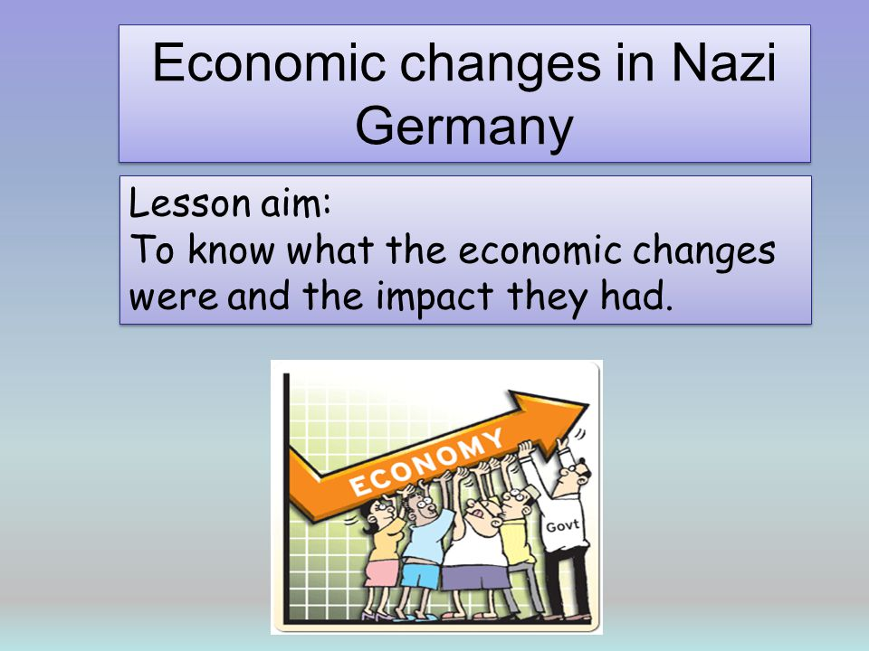 How did the Nazis reduce unemployment? Remember Hitler had promised to sort out unemployment