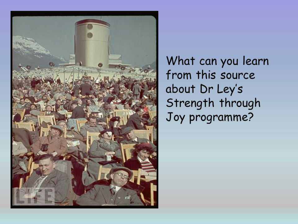 What can you learn from this source about Dr Leys Strength through Joy programme?