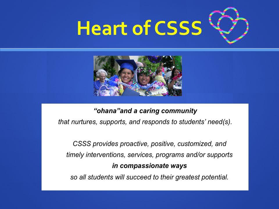 Heart of CSSS