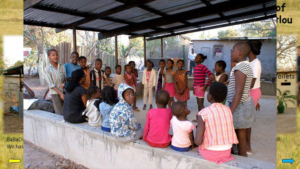 Activities of Bana Ba Ditlou Feeding centre We are providing food for hungry and malnourished children.