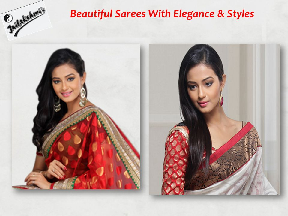 Beautiful Sarees With Elegance & Styles