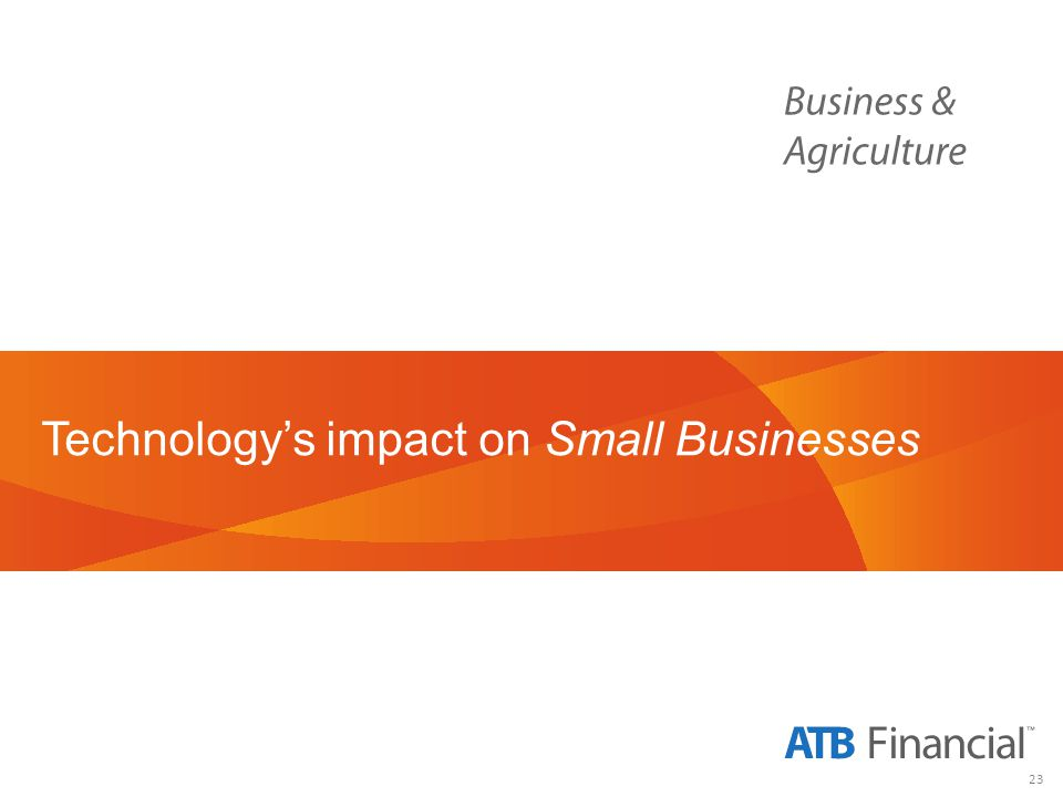 23 Technologys impact on Small Businesses