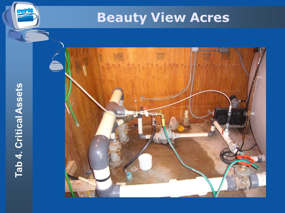 Beauty View Acres Tab 4. Critical Assets