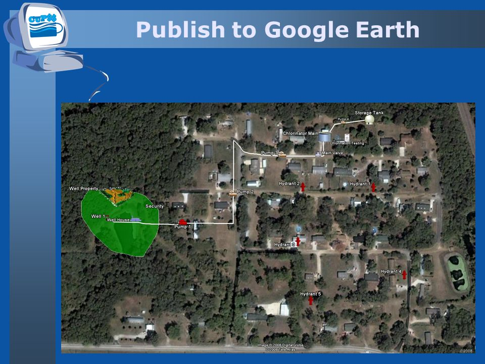 Publish to Google Earth