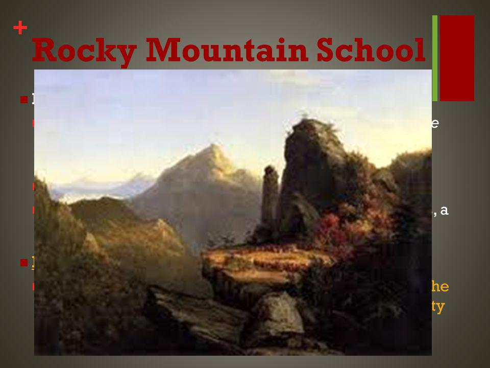 + Rocky Mountain School Background Context This was crucial to the creation of not only Yellowstone National Park, but also the National Park System when these pictures were presented to Congress in 1916.