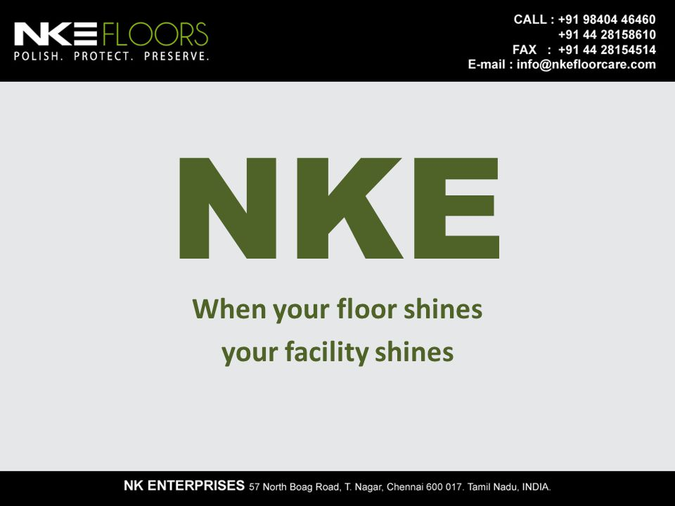 Concept of floor restoration Floors are one of the most significant part of any structure.