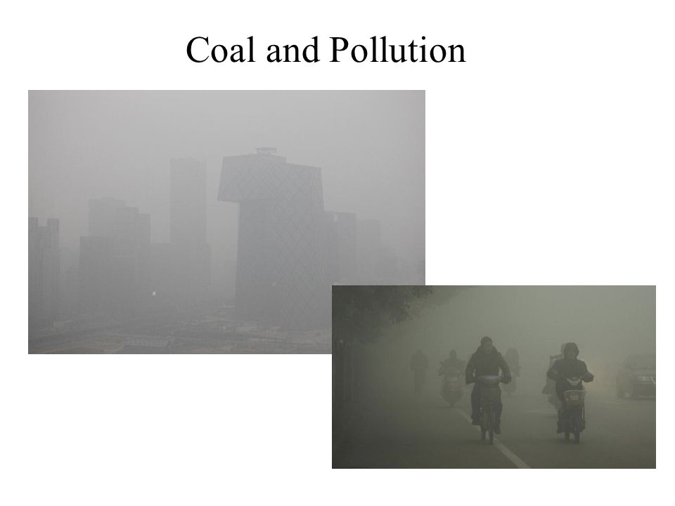 Coal and Pollution