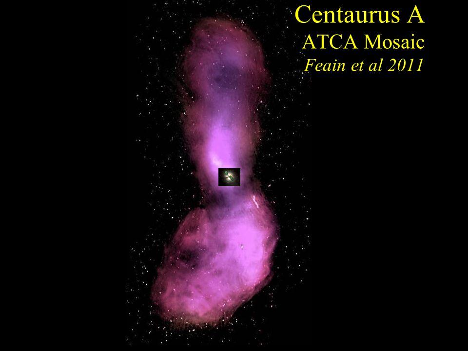 Centaurus A ATCA Mosaic Feain et al 2011